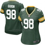 Maglia NFL Game Donna Green Bay Packers Guion Verde Militar