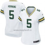 Maglia NFL Game Donna Green Bay Packers Hornung Bianco2