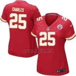 Maglia NFL Game Donna Kansas City Chiefs Charles Rosso