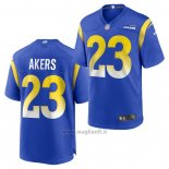 Maglia NFL Game Los Angles Rams Cam Akers 2020 Blu