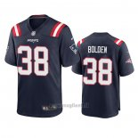 Maglia NFL Game New England Patriots Brandon Bolden 2020 Blu