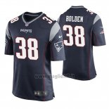 Maglia NFL Game New England Patriots Brandon Bolden Blu