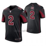 Maglia NFL Legend Arizona Cardinals Andy Lee Nero Color Rush