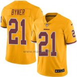 Maglia NFL Legend Washington Redskins Byner Giallo