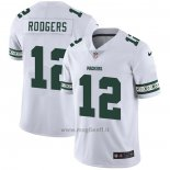 Maglia NFL Limited Green Bay Packers Rodgers Team Logo Fashion Bianco