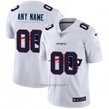 Maglia NFL Limited New England Patriots Personalizzate Logo Dual Overlap Bianco