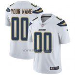 Maglia NFL Bambino Los Angeles Chargers Personalizzate Bianco