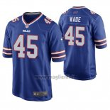 Maglia NFL Game Buffalo Bills Christian Wade Blu