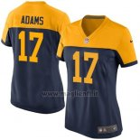 Maglia NFL Game Donna Green Bay Packers Adams Nero Giallo
