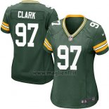 Maglia NFL Game Donna Green Bay Packers Clark Verde Militar
