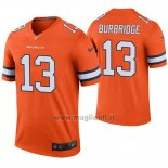 Maglia NFL Legend Denver Broncos Aaron Burbridge Arancione Color Rush