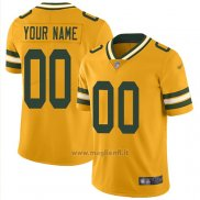 Maglia NFL Legend Green Bay Packers Personalizzate Giallo
