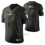 Maglia NFL Limited Arizona Cardinals Damiere Byrd Golden Edition Nero