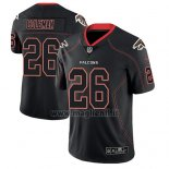 Maglia NFL Limited Atlanta Falcons Tevin Coleman Nero Color Rush 2018 Lights Out