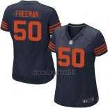 Maglia NFL Game Donna Chicago Bears Freeman Blu