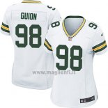 Maglia NFL Game Donna Green Bay Packers Guion Bianco