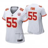 Maglia NFL Game Donna Kansas City Chiefs Dee Ford Bianco
