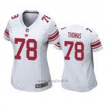 Maglia NFL Game Donna New York Giants Andrew Thomas Bianco