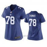 Maglia NFL Game Donna New York Giants Andrew Thomas Blu