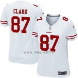 Maglia NFL Game Donna San Francisco 49ers Clark Blaco