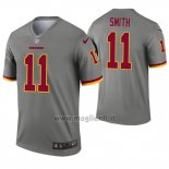 Maglia NFL Legend Washington Redskins 11 Alex Smith Inverted Grigio