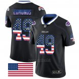 Maglia NFL Limited Buffalo Bills Edmunds Rush USA Flag Nero