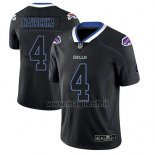 Maglia NFL Limited Buffalo Bills Steven Hauschka Nero Color Rush 2018 Lights Out