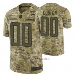 Maglia NFL Limited Los Angeles Chargers Personalizzate Salute To Service Verde