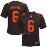 Maglia NFL Game Bambino Cleveland Browns Baker Mayfield Alternato Marrone