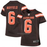 Maglia NFL Game Bambino Cleveland Browns Baker Mayfield Marrone 1