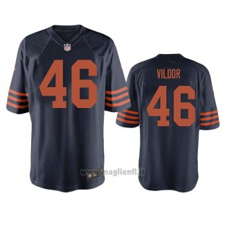 Maglia NFL Game Chicago Bears Kindle Vildor Throwback Blu
