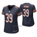 Maglia NFL Game Donna Chicago Bears Eddie Jackson Blu