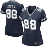 Maglia NFL Game Donna Dallas Cowboys Bryant Blu