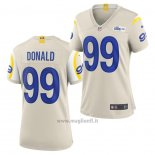 Maglia NFL Game Donna Los Angles Rams Aaron Donald Bianco