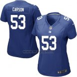 Maglia NFL Game Donna New York Giants Carson Blu