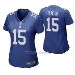 Maglia NFL Game Donna New York Giants Golden Tate Blu