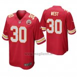 Maglia NFL Game Kansas City Chiefs Charcandrick West Rosso