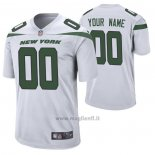 Maglia NFL Game New York Jets Personalizzate Game Bianco