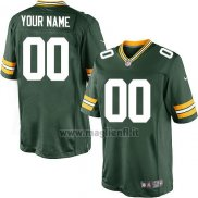 Maglia NFL Green Bay Packers Personalizzate Verde
