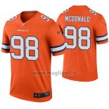 Maglia NFL Legend Denver Broncos Clinton Mcdonald Arancione Color Rush