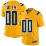 Maglia NFL Legend Los Angeles Chargers Personalizzate Giallo