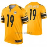 Maglia NFL Legend Pittsburgh Steelers 19 Juju Smith Schuster Inverted Or