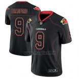 Maglia NFL Limited Arizona Cardinals Sam Bradford Nero Color Rush 2018 Lights Out