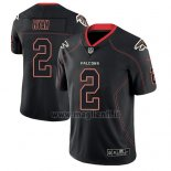 Maglia NFL Limited Atlanta Falcons Matt Ryan Nero Color Rush 2018 Lights Out