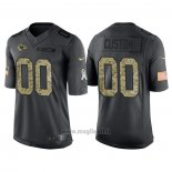 Maglia NFL Limited Kansas City Chiefs Personalizzate 2016 Salute To Service Nero