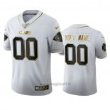 Maglia NFL Limited Kansas City Chiefs Personalizzate Golden Edition Bianco