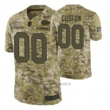 Maglia NFL Limited Kansas City Chiefs Personalizzate Salute To Service Verde