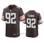 Maglia NFL Game Cleveland Browns Chad Thomas 2020 Marronee
