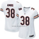 Maglia NFL Game Donna Chicago Bears Amos Bianco