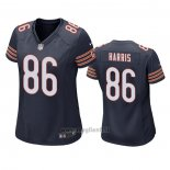Maglia NFL Game Donna Chicago Bears Demetrius Harris Blu